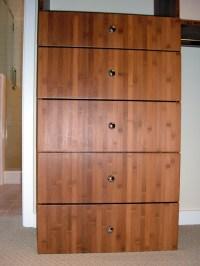 Bamboo Closet Organizer - Contemporary - Wardrobe - San ...