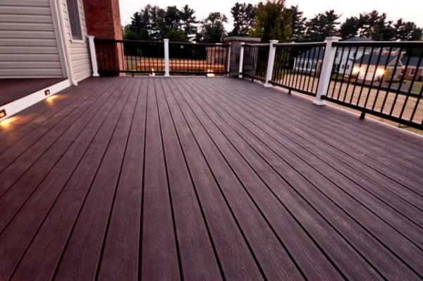 composite decking detail - porch