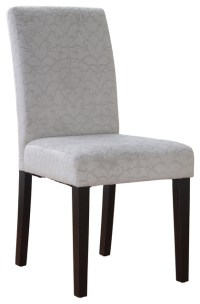 Linon Charcoal Gray Upton Parsons Chair - Contemporary ...