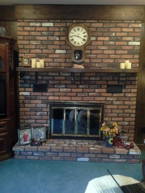 need updating for an old fashioned fireplace