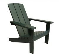 Modern Poly Adirondack Chair, Green - Contemporary ...