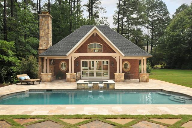 Pool House Classique Piscine Atlanta Par Innovative