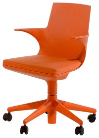 Kartell Spoon Chair - Orange - Modern - Office Chairs - by ...