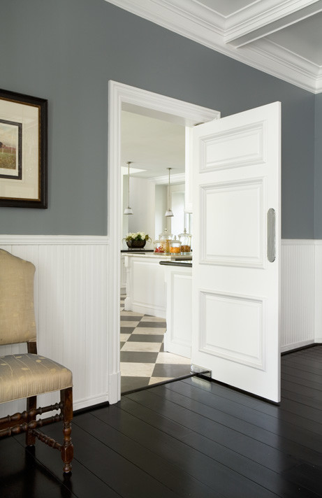 I Love The Wall Color With The White Trim And Dark Floors Would You Share The Wall Color