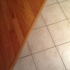 Redoing Kitchen Table Centerpiece Ideas Need New Floor That Abuts Red Oak Hardwood.
