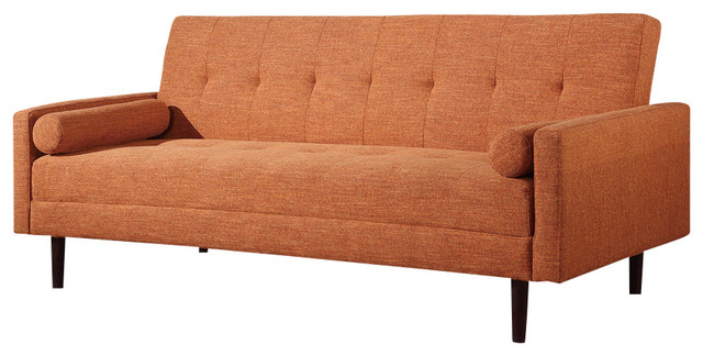 vegas futon sectional sofa bed queen sleeper with storage darcy mocha ashley furniture midcentury - sofas by at home usa inc.