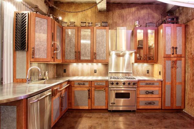 Manhattan Steam Punk Loft  Eclectic  Kitchen  New York