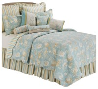 Natural Shells Full/Queen Quilt by C & F, Quilt Only ...