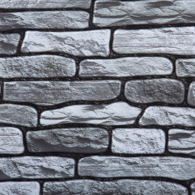 3d stone peel stick wall tiles 11 8 x11 8 gray 6 pieces