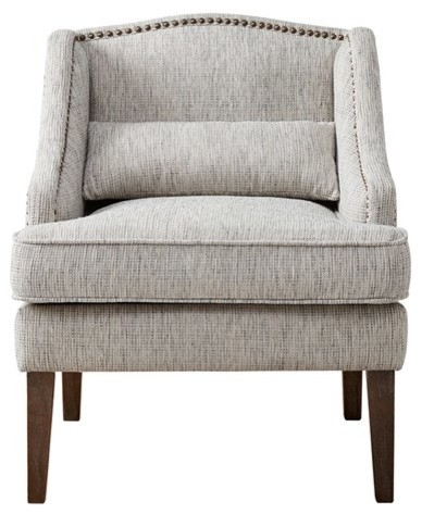 accent chair gray kid adirondack wood madison park baylor hardwood multi transitional armchairs and chairs by gwg outlet