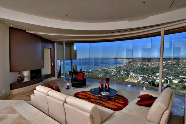 living room la jolla modern interior designs for small rooms multi million dollar home in - contemporary ...