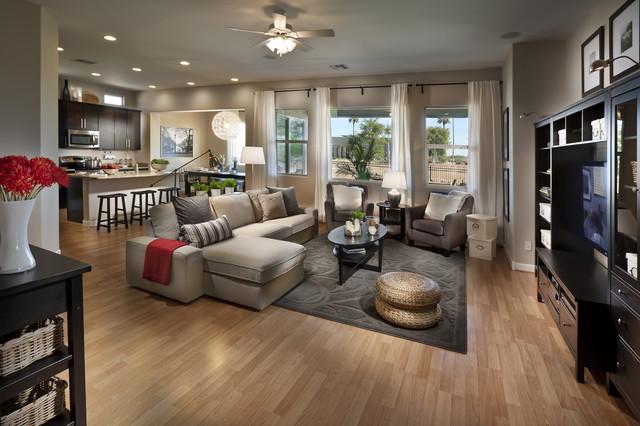 IKEA Next Gen Home Arizona Contemporain Salon Orange County