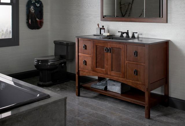 widespread kitchen faucet small table lamps for kohler marabou vanity & memoris ...