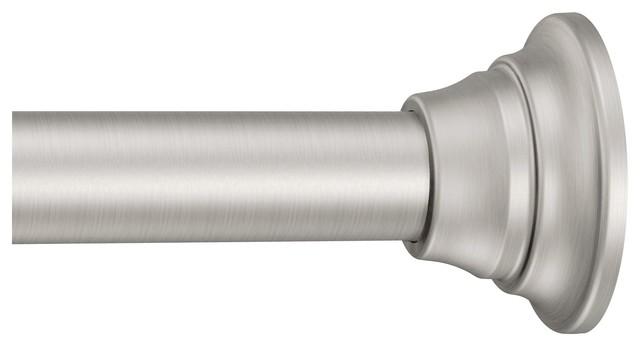 moen tension rod brushed nickel tension rod tr1000bn