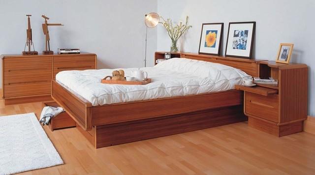 Teak Bedroom  Modern  Bedroom  Oklahoma City  by Dane Design Contemporary Furniture
