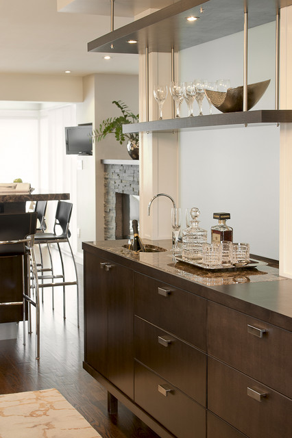 Contemporary Dining Sets Sale Wet-bar - Contemporary - Dining Room - Toronto - By Leslie
