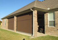 Motorized patio shades - Traditional - Patio - other metro ...