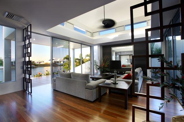 "Ryan Designer Homes "" Latitude 26"" Contemporary Living Room"