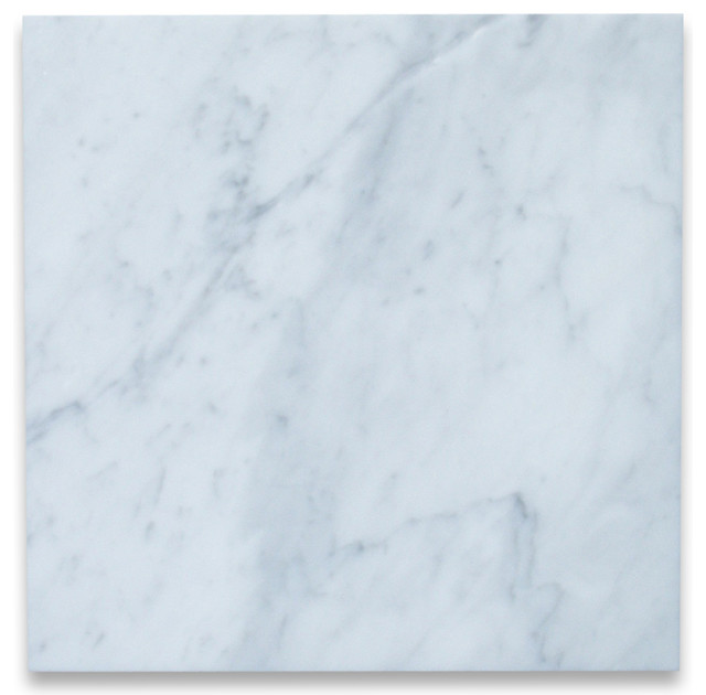 12 x12 carrara white marble tile polished italian bianco carrera set of 100