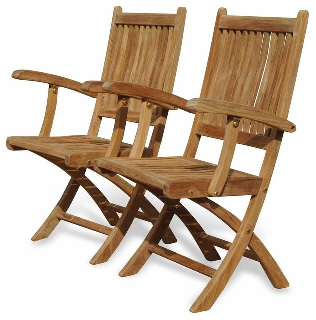 teak folding chair leap accessories rockport with arms by regal contemporary outdoor chairs great garden supply