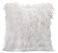 IMAX Worldwide Home Nikki Chu Faux Fur Pillow - Decorative ...