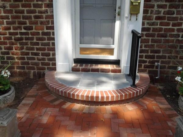 hardscape - front door steps