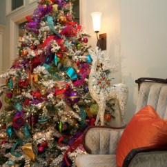 Pillow Covers For Living Room Built In Bar Ideas Christmas Decorations - Traditional San ...