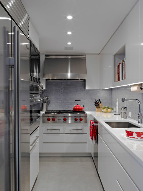 Modern Apartment NYC  Contemporary  Kitchen  New York