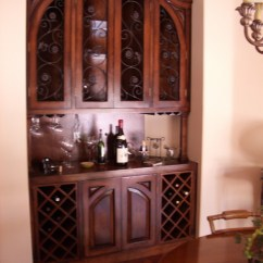 Living Room Buffet Cabinet Wall Decorations For India Built In Wine - Mediterranean Dining Los ...