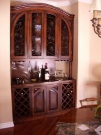 Built In Wine Cabinet - Mediterranean - Dining Room - los ...