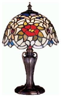 Meyda Tiffany Lamps Table Lamp in Mahogany Bronze ...