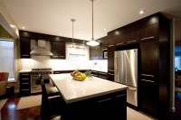 Dark brown kitchen - Modern - Kitchen - Toronto - by Hot ...