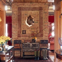 Non Slip Kitchen Rugs Lighting Options Hunting Lodge - Oxford, Maryland Rustic Entry Dc ...