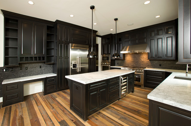 Custom Home Traditional Kitchen DC Metro By Authentic Reclaimed Flooring