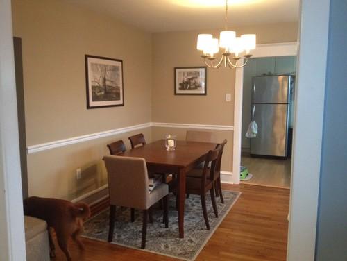 Small living room no entry