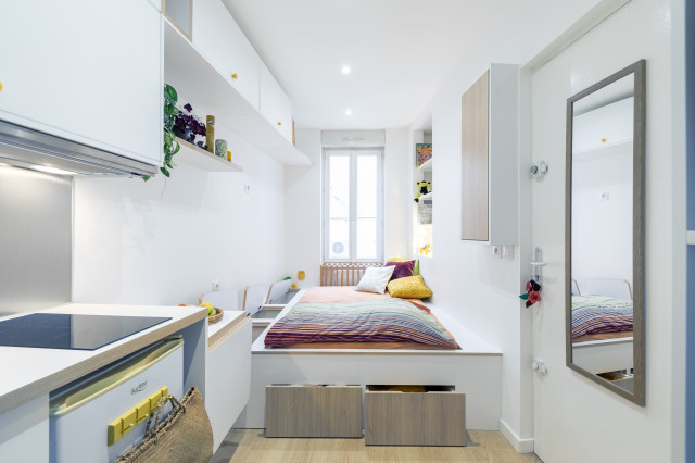 Before After A 9 Square Metre Studio Apartment Houzz Au