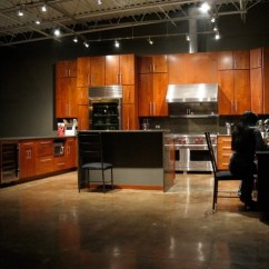 Farmhouse Kitchen Cabinets For Sale Bright Light Fixtures Tnted And Sealed Concrete Floor In Chicago Loft. - Modern ...