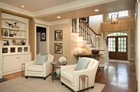 Clean & Simple Lines - Traditional - Family Room - Raleigh ...