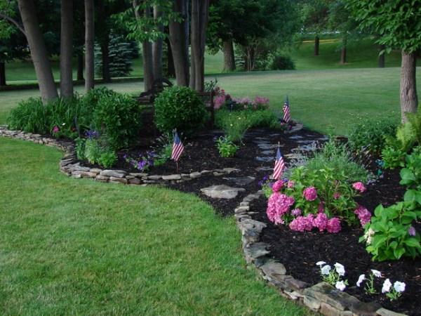 perennial garden - traditional