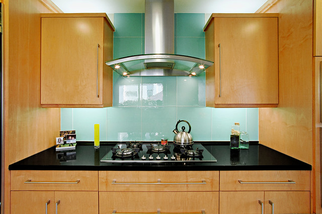 kitchen backsplash glass tiles cheap hotels with kitchens 9 bold and beautiful design ideas realtor com one of the hottest looks for backsplashes is emphasis on larger scale materials rather than smaller mosaics subway that had been