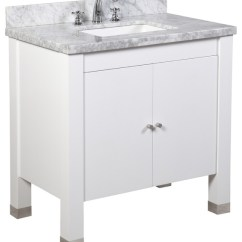 Kitchen Vanity Aid Cover Riley Bath Contemporary Bathroom Vanities And Sink White 36 Single