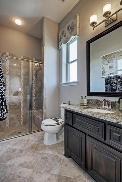 Toll Brothers Plano TX Model  Contemporary  Bathroom  Dallas  by ModelDeco