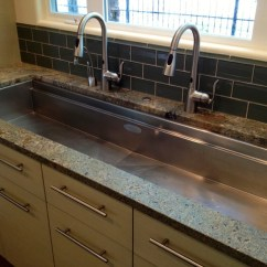 Moen Kitchen Soap Dispenser Cushions For Chairs Long Sink - Contemporary Boise By ...