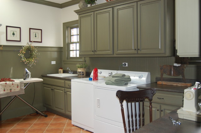 New Old House  Traditional  Laundry Room  Chicago  by