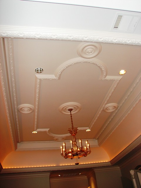 Plaster ceiling pattern  Traditional  Bedroom  Dallas  by American Masonry Supply Inc