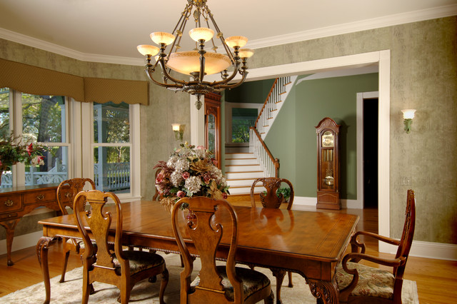 Victorian  Traditional  Dining Room  other metro  by