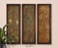 Uttermost Damask Panels, S/3 50958. Wall Art - HomeThangs ...