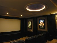 Ceiling Ideas for Media Room / Home Theatre