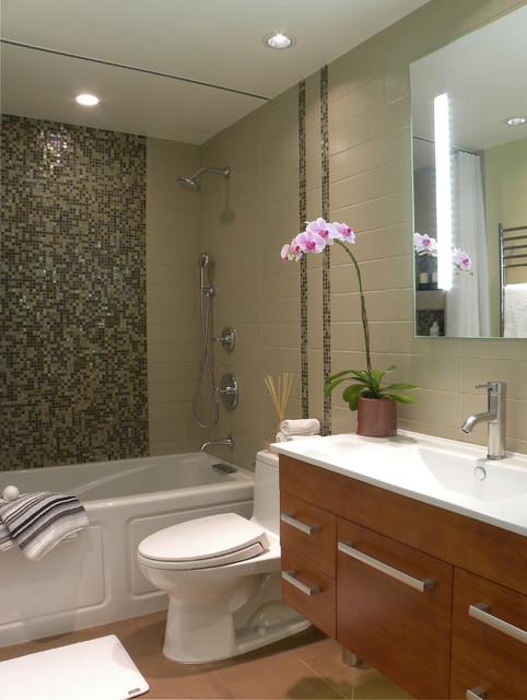 Small Bath Remodel  Contemporary  Bathroom  Orange County  by FG Design