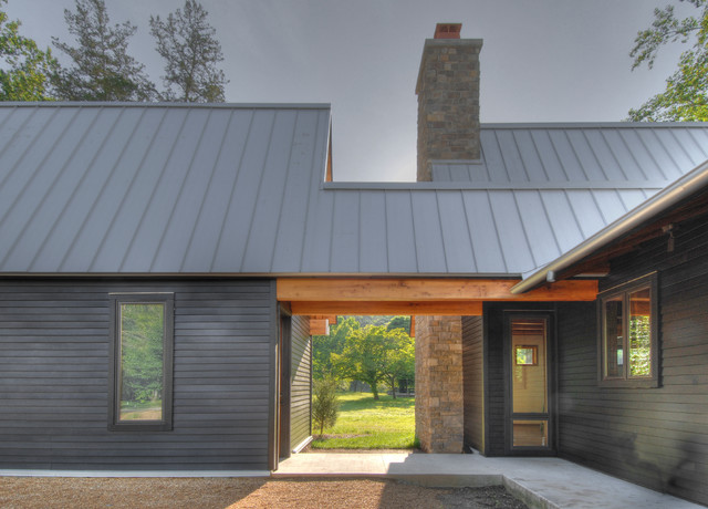 Tellico Cabin Transitional Exterior Nashville By
